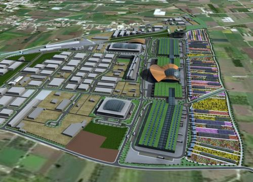 Flora: a new floriculture center in Marigliano